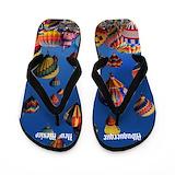 New mexico souvenir Flip Flops
