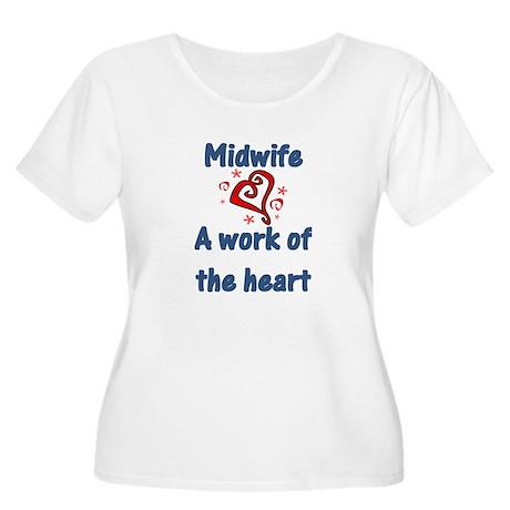 Midwife Women's Plus Size Scoop Neck T-Shirt