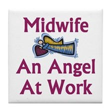 Midwife Tile Coaster