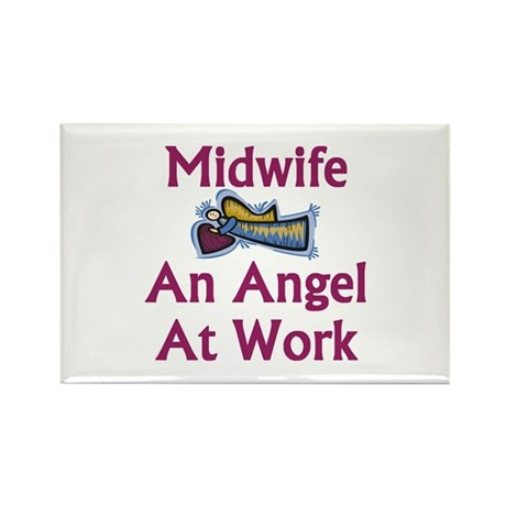 Midwife Rectangle Magnet (10 pack)