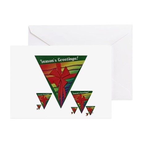 RAINBOW PRIDE HOLIDAY PACKAGE Greeting Cards (10Pk