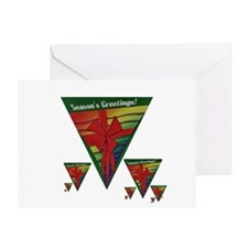 RAINBOW PRIDE HOLIDAY PACKAGE Greeting Card
