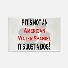 Not American Water Spaniel Rectangle Magnet