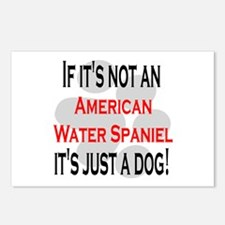Not American Water Spaniel Postcards (Package of 8