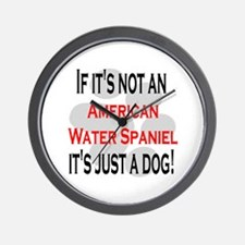 Not American Water Spaniel Wall Clock