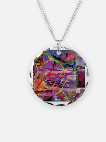 Modern art Necklace