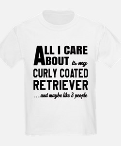 All I care about is my Curly-Co T-Shirt