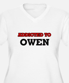 Addicted to Owen Plus Size T-Shirt