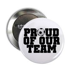 "Soccer Team Pride 2.25"" Button (10 pack)"