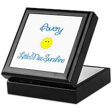Avery - Little Miss Sunshine Keepsake Box