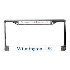 Wilmington DE License Plate Frame