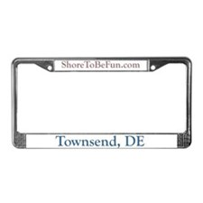 Townsend DE License Plate Frame