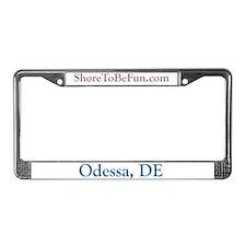 Odessa DE License Plate Frame