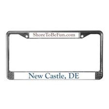 New Castle DE License Plate Frame