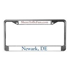 Newark DE License Plate Frame