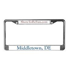 Middletown DE License Plate Frame
