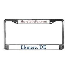 Elsmere DE License Plate Frame