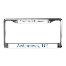Ardentown DE License Plate Frame