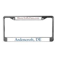 Ardencroft DE License Plate Frame