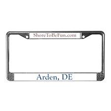 Arden DE License Plate Frame