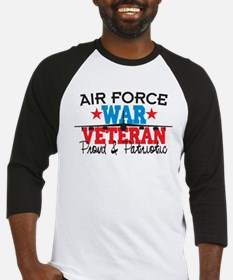 Air Force War Veteran Baseball Jersey