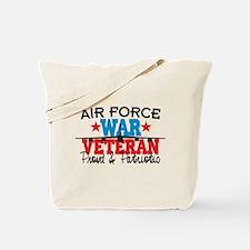 Air Force War Veteran Tote Bag