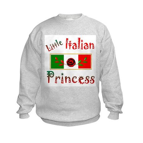 Little Italian Princess, Kids Sweatshirt