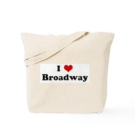 I Love Broadway Tote Bag