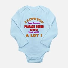 I love you less than m Long Sleeve Infant Bodysuit