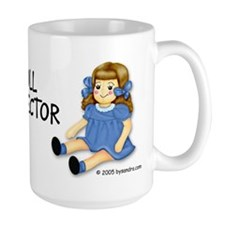 Blue Rag Doll Mug