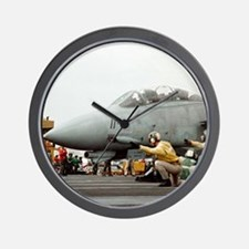F14B Tomcat Wall Clock