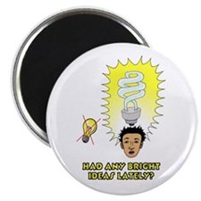 """Had Any Bright Ideas Lately 2.25"""" Magnet (100 pack"""
