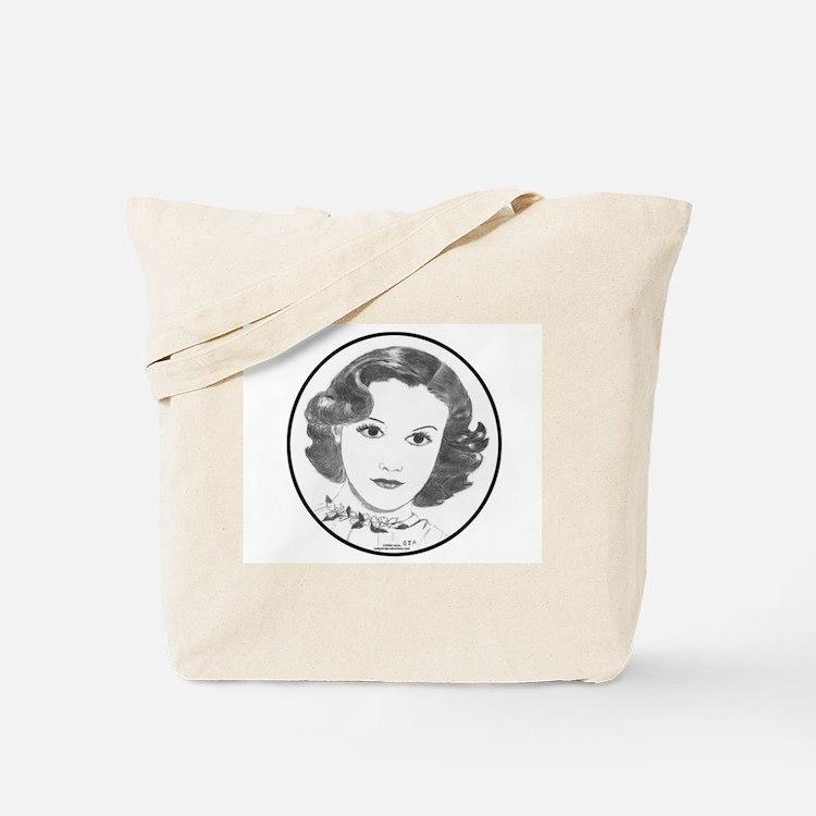 1930s Portrait Tote Bag