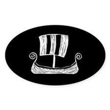Viking Ship Stickers