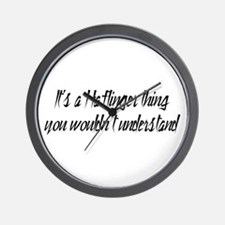 It's a Haflinger Thing Wall Clock