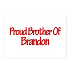 Proud Brother of Brandon Postcards (Package of 8)