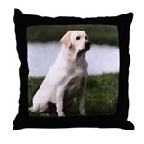 Lab pillow Throw Pillows