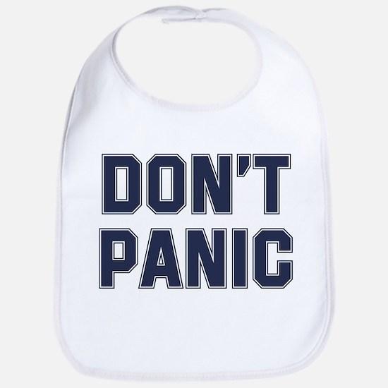 Don't Panic Bib