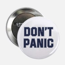 """Don't Panic 2.25"""" Button (10 pack)"""
