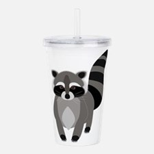 Rascally Raccoon Acrylic Double-wall Tumbler