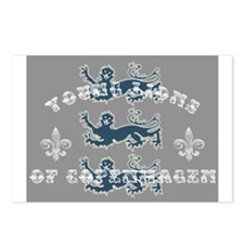 3 Lions Postcards (Package of 8)