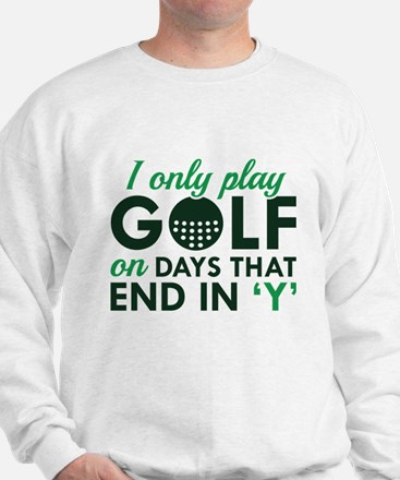 I Only Play Golf Jumper