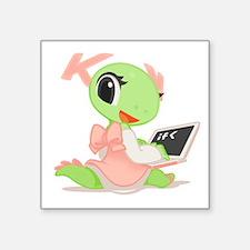 """Katie Square Sticker 3"""" X 3"""""""