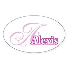 Alexis Oval Stickers