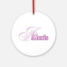 Alexis Ornament (Round)