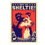 Sheltie postcards Postcards