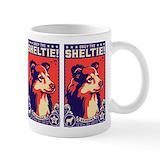 Shetland sheepdog Coffee Mugs