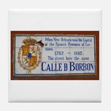 Bourbon Street Tile Coaster