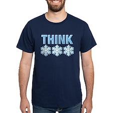 Think Snow Blue T-Shirt