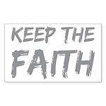 Keep The Faith Sticker